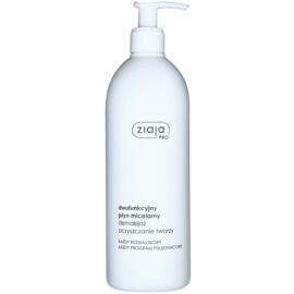 Ziaja Pro Cleansers All Skin Types čistiaca a odličovacia micelárna voda pre profesionálne použitie  500 ml