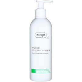 Ziaja Pro Cleansers All Skin Types máscara calmante com uréia e papaína para uso profissional  270 ml