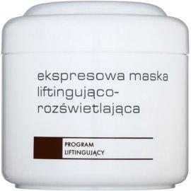 Ziaja Pro Lifting máscara iluminadora imediata para esticar a pele para uso profissional  200 ml