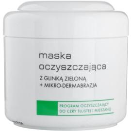 Ziaja Pro Cleansers Oily and Combination Skin Reinigungsmaske mit grünen Tonmineralien und Mikrokristallen nur für professionellen Gebrauch  250 ml