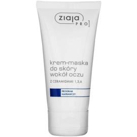Ziaja Pro Remedial krém-maska na oční okolí s ceramidy pro profesionální použití  50 ml