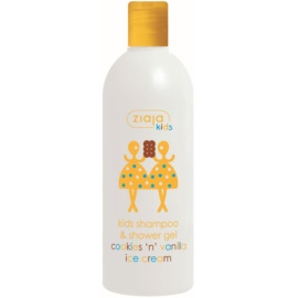 Ziaja Ziajka 2in1 Shampoo and Cleansing Gel For Kids from 3 years Cookies & Vanilla 400 ml