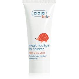 Ziaja Baby zubný gél pre deti s fluoridom  50 ml
