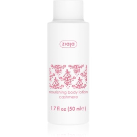 Ziaja Cashmere Nourishing Body Milk For Dry Skin  50 ml