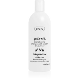 Ziaja Goat's Milk Energising Shampoo for Dry and Damaged Hair  400 ml