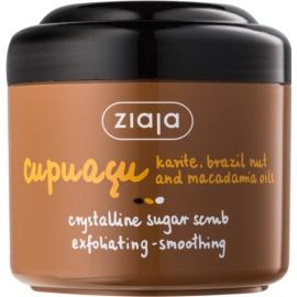 Ziaja Cupuacu exfoliant pentru corp cu zahăr  200 ml
