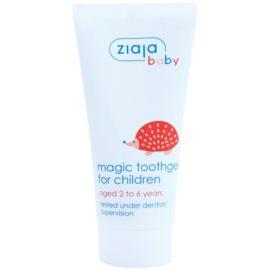 Ziaja Baby gel para dentes de crianças com fluór  50 ml