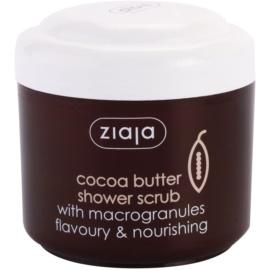 Ziaja Cocoa Butter sprchový peeling  200 ml