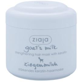 Ziaja Goat's Milk máscara fortificante para cabelo seco a danificado  200 ml
