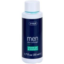 Ziaja Men šampon a sprchový gel 2 v 1  50 ml