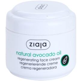 Ziaja Natural Avocado Oil regeneracijska krema za obraz  75 ml