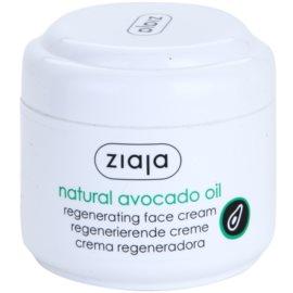 Ziaja Natural Avocado Oil creme regenerador para o rosto  75 ml