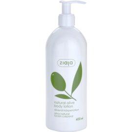 Ziaja Natural Olive testápoló tej olíva kivonattal  400 ml