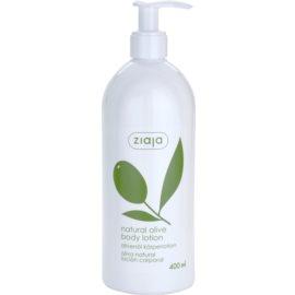Ziaja Natural Olive leite corporal com extrato de azeitonas  400 ml