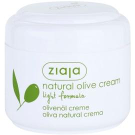 Ziaja Natural Olive Feuchtigkeitsspendende Tagescreme für normale und trockene Haut  100 ml