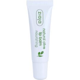 Ziaja Natural Olive nährender Lippenbalsam mit Auszügen aus Oliven  10 ml