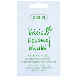 Ziaja Natural Olive máscara facial de caulim  7 ml