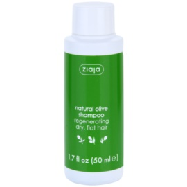 Ziaja Natural Olive regenerační šampon pro suché vlasy  50 ml