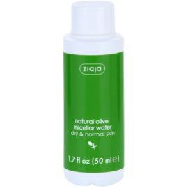 Ziaja Natural Olive Mizellarwasser für normale und trockene Haut  50 ml
