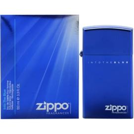Zippo Fragrances Into The Blue Eau de Toilette für Herren 100 ml Nachfüllbar