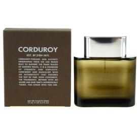 Zirh Corduroy Eau de Toilette für Herren 75 ml