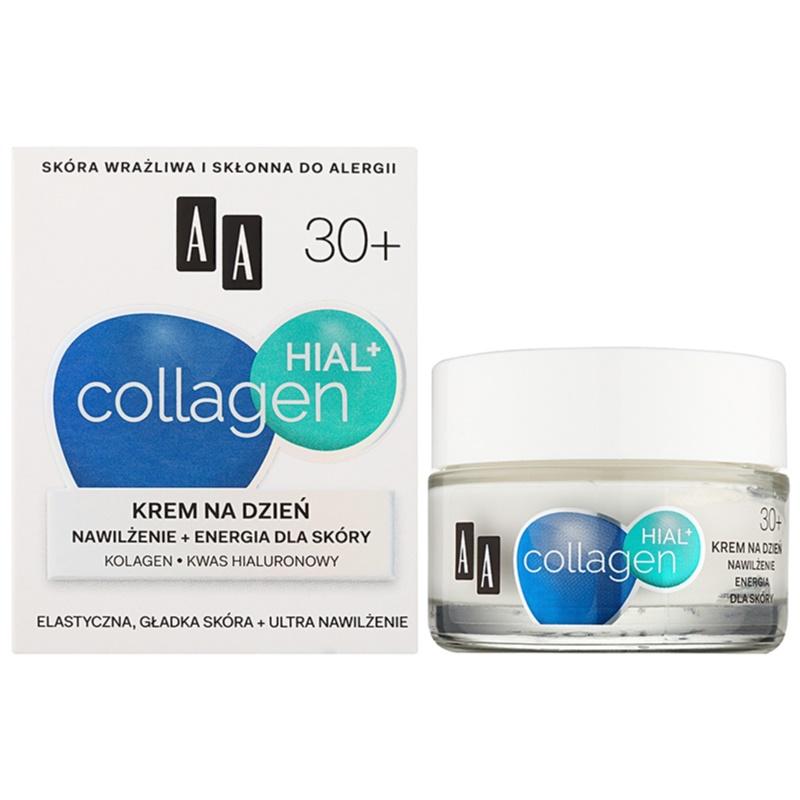 aa cosmetics collagen hial hydrating day cream 30