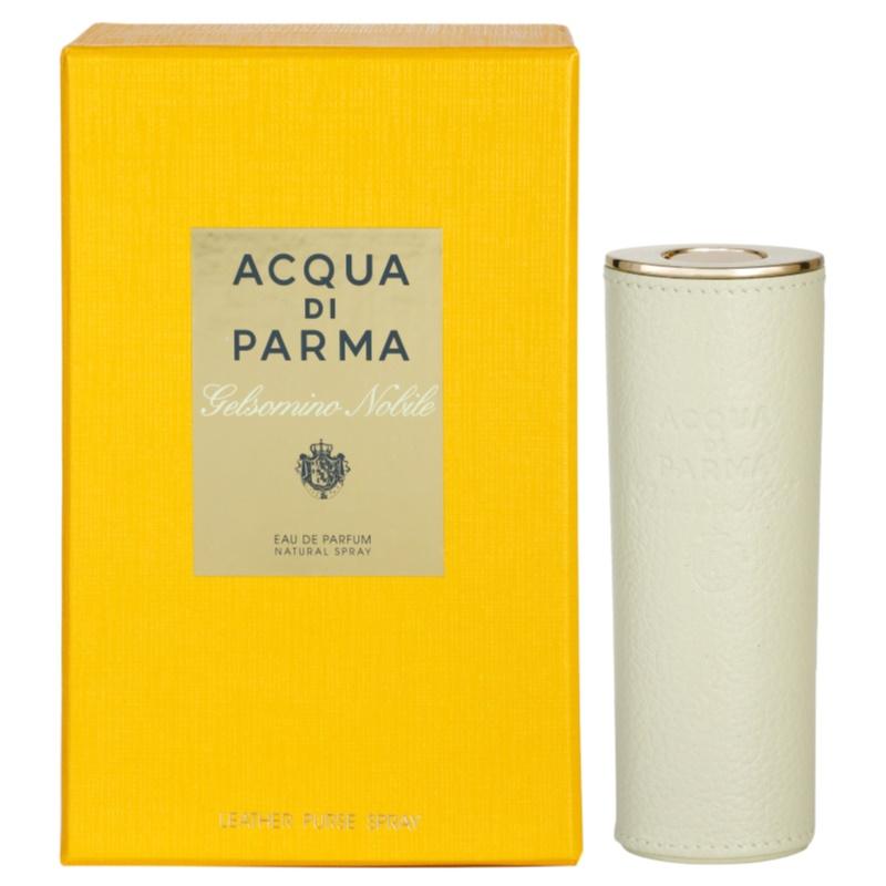 Acqua di parma gelsomino nobile eau de parfum voor vrouwen 20 ml lederen etui - Italiaanse douchegel ...