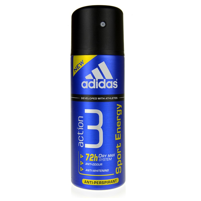 Adidas A3 Sport Energy, dezodorant w sprayu dla mezczyzn 150