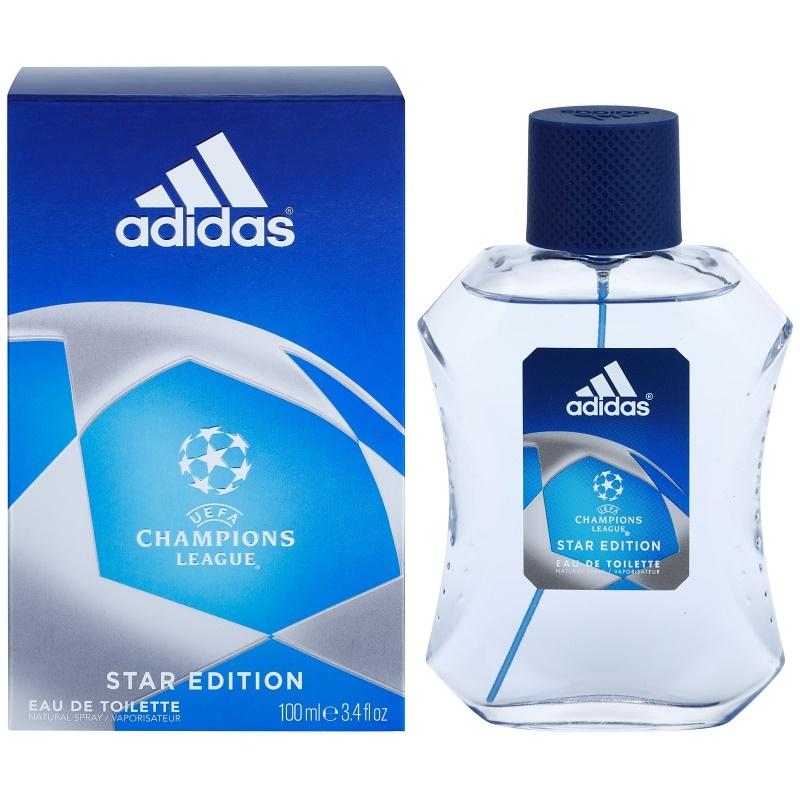 adidas champions league star edition eau de toilette for. Black Bedroom Furniture Sets. Home Design Ideas