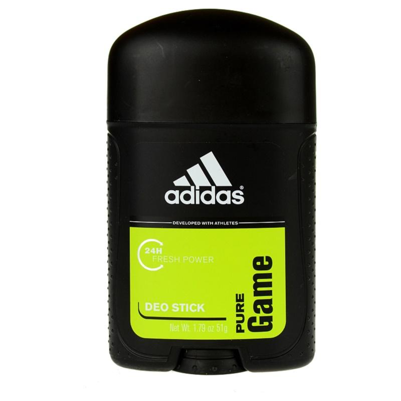 adidas pure game deodorant stick
