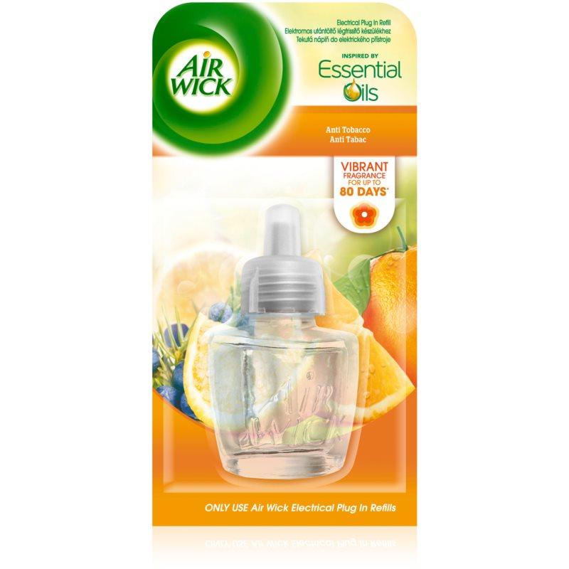 air wick essential oils anti tobacco diffuseur lectrique. Black Bedroom Furniture Sets. Home Design Ideas