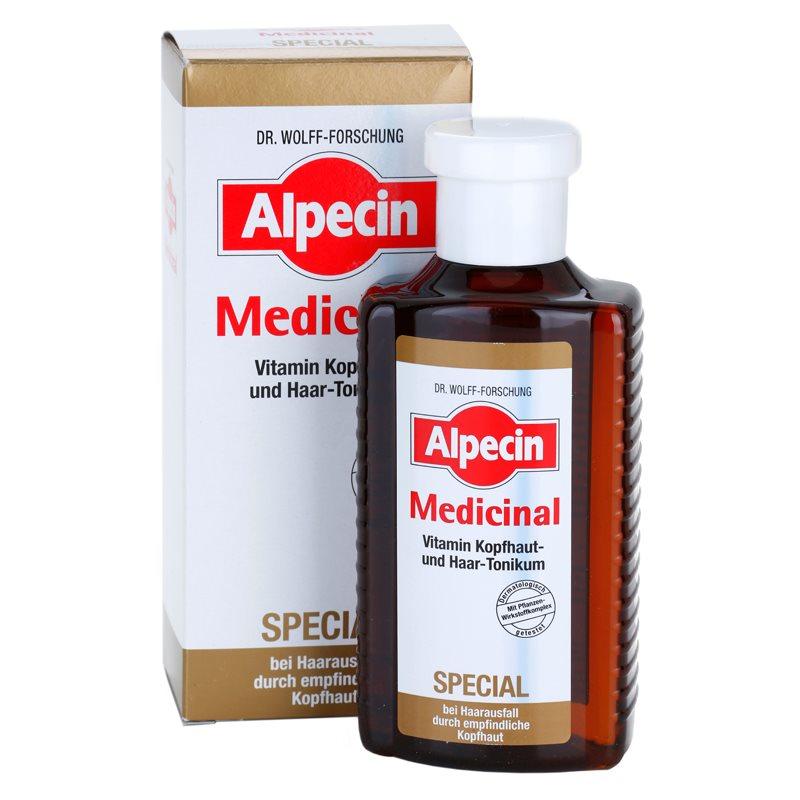 alpecin medicinal special lotion tonique anti chute de cheveux pour cuir chevelu sensible. Black Bedroom Furniture Sets. Home Design Ideas