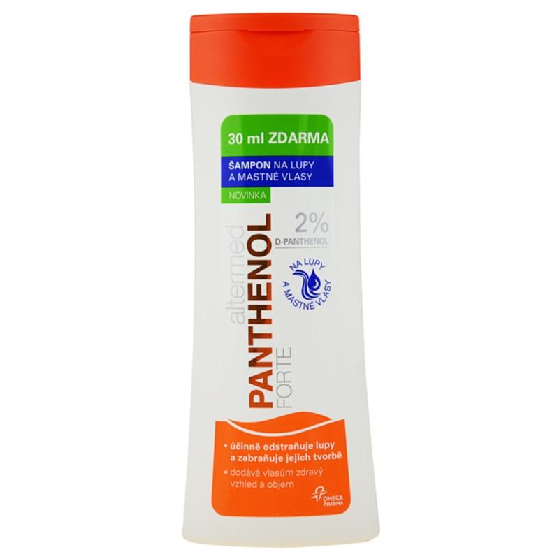 altermed panthenol forte shampoo gegen schuppen f r. Black Bedroom Furniture Sets. Home Design Ideas