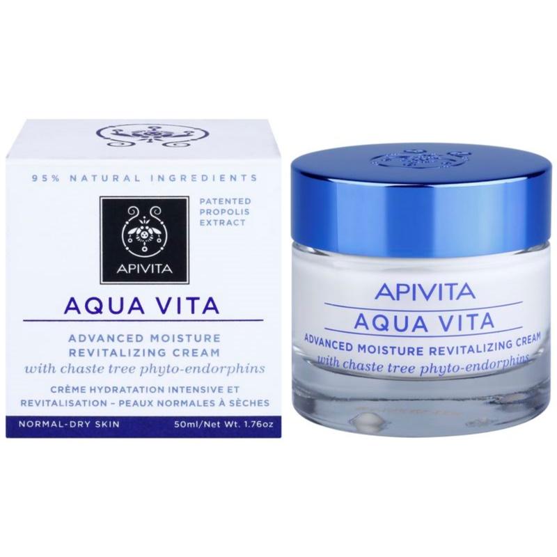 apivita aqua vita cr me hydratante et revitalisante intense pour peaux normales et s ches. Black Bedroom Furniture Sets. Home Design Ideas