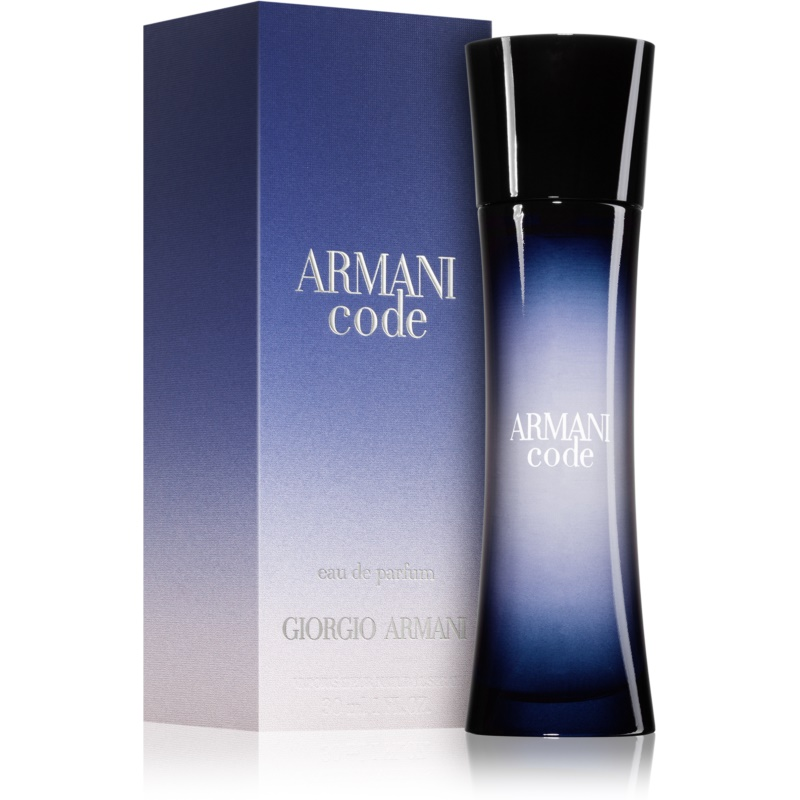 armani code eau de parfum for women 75 ml. Black Bedroom Furniture Sets. Home Design Ideas