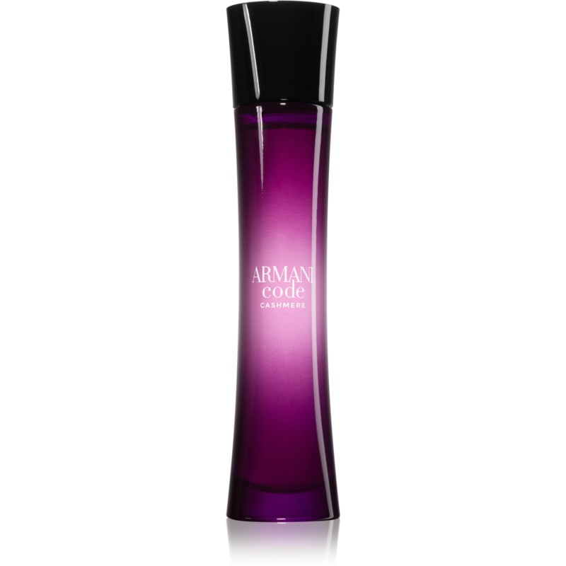 armani code cashmere eau de parfum para mujer 75 ml. Black Bedroom Furniture Sets. Home Design Ideas