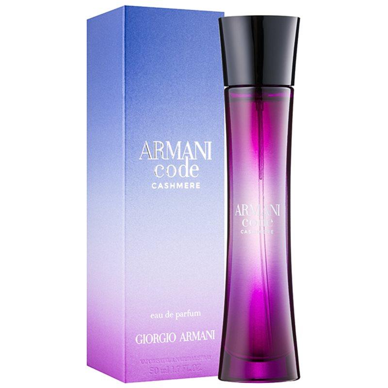 armani code cashmere eau de parfum voor vrouwen 75 ml. Black Bedroom Furniture Sets. Home Design Ideas