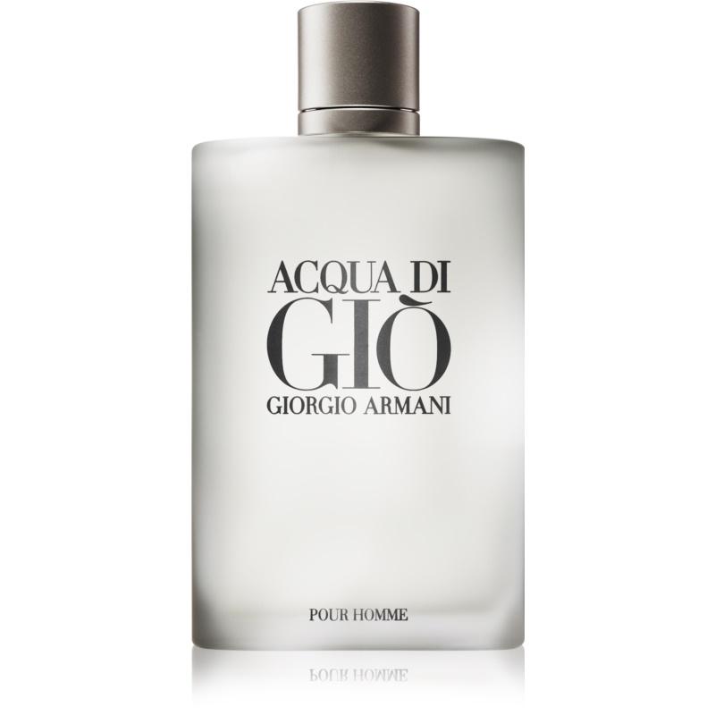 armani acqua di gio pour homme eau de toilette for 200 ml notino co uk