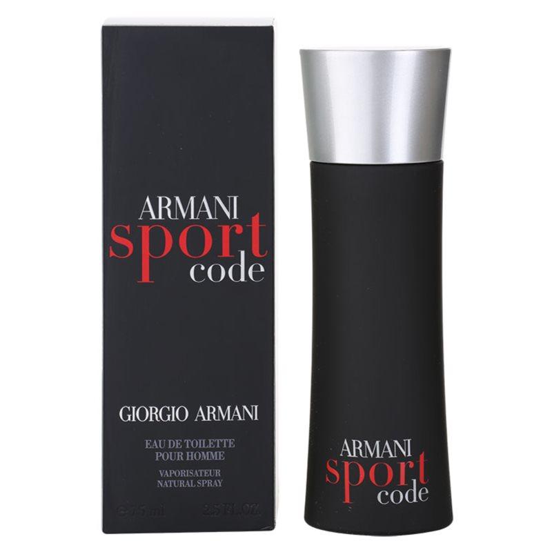 armani code sport eau de toilette f r herren 75 ml. Black Bedroom Furniture Sets. Home Design Ideas