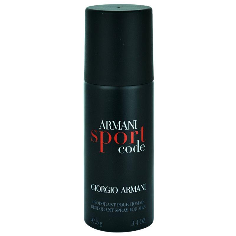 armani code sport deo spray f r herren 150 ml. Black Bedroom Furniture Sets. Home Design Ideas