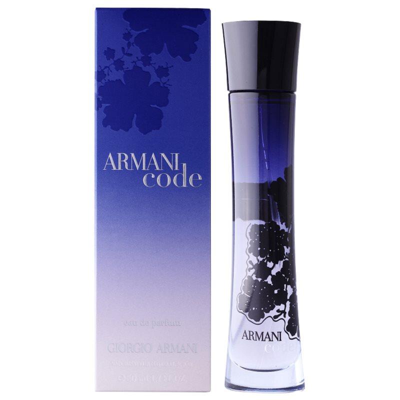 armani code woman eau de parfum f r damen 75 ml. Black Bedroom Furniture Sets. Home Design Ideas