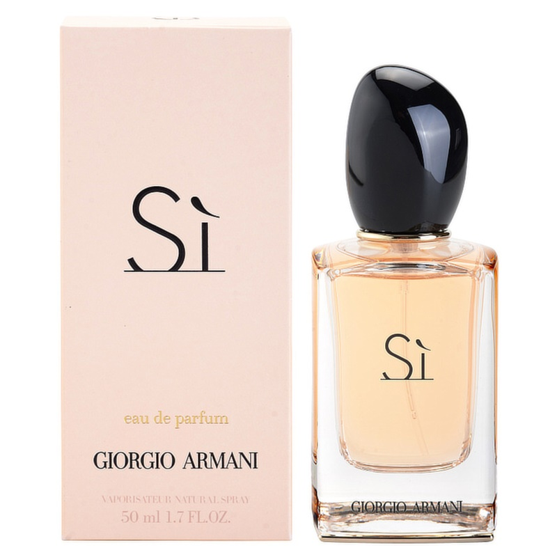 armani si eau de parfum pour femme 50 ml. Black Bedroom Furniture Sets. Home Design Ideas