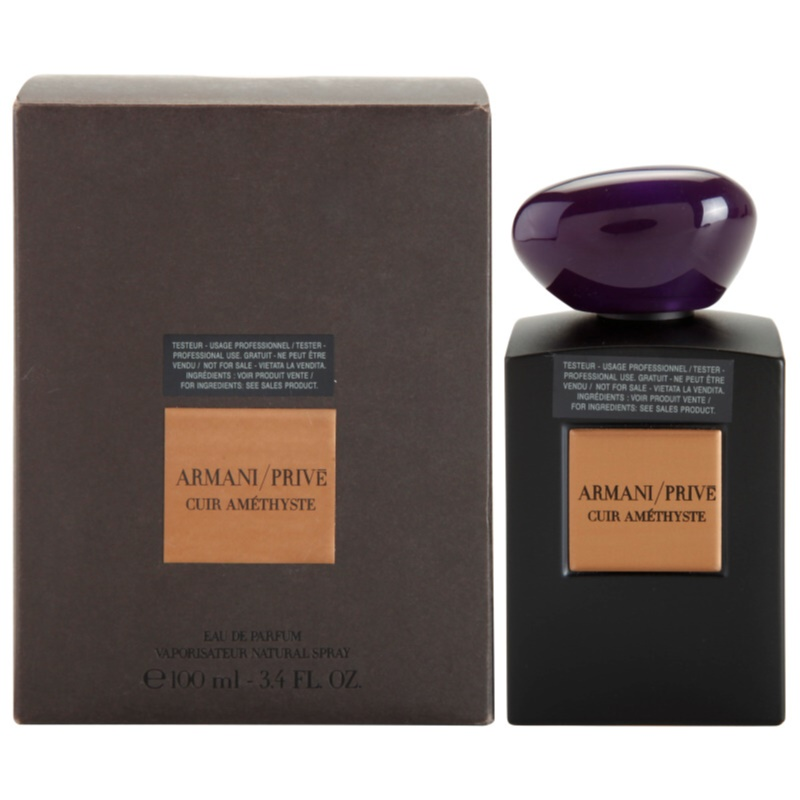 Armani Prive Cuir Amethyste, Eau De Parfum Tester Unisex 100 Ml