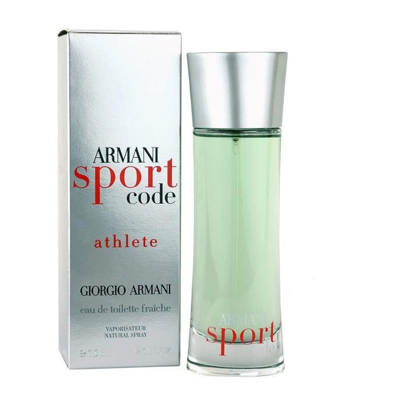 armani code sport athlete eau de toilette f r herren 75. Black Bedroom Furniture Sets. Home Design Ideas