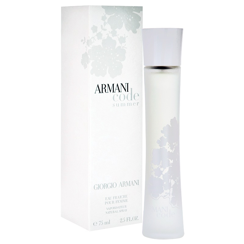 armani code summer pour femme eau fraiche eau de toilette. Black Bedroom Furniture Sets. Home Design Ideas