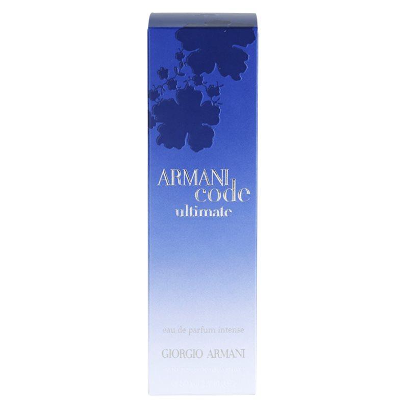 armani code ultimate femme eau de parfum f r damen 50 ml. Black Bedroom Furniture Sets. Home Design Ideas