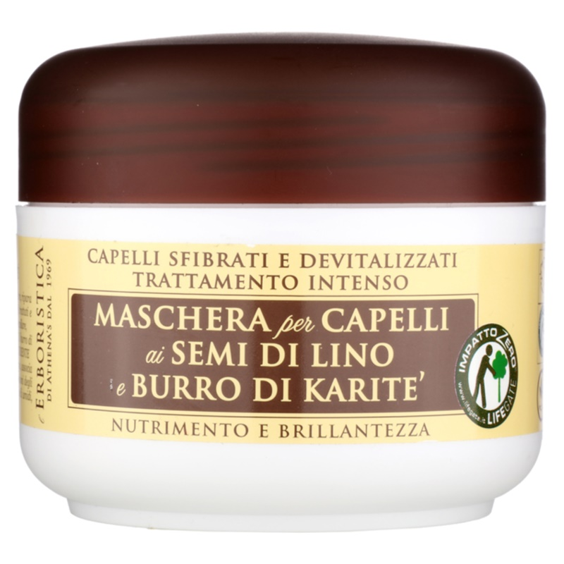 Athena's l'Erboristica, Linseed Oil Mask for Dry and Damaged Hair
