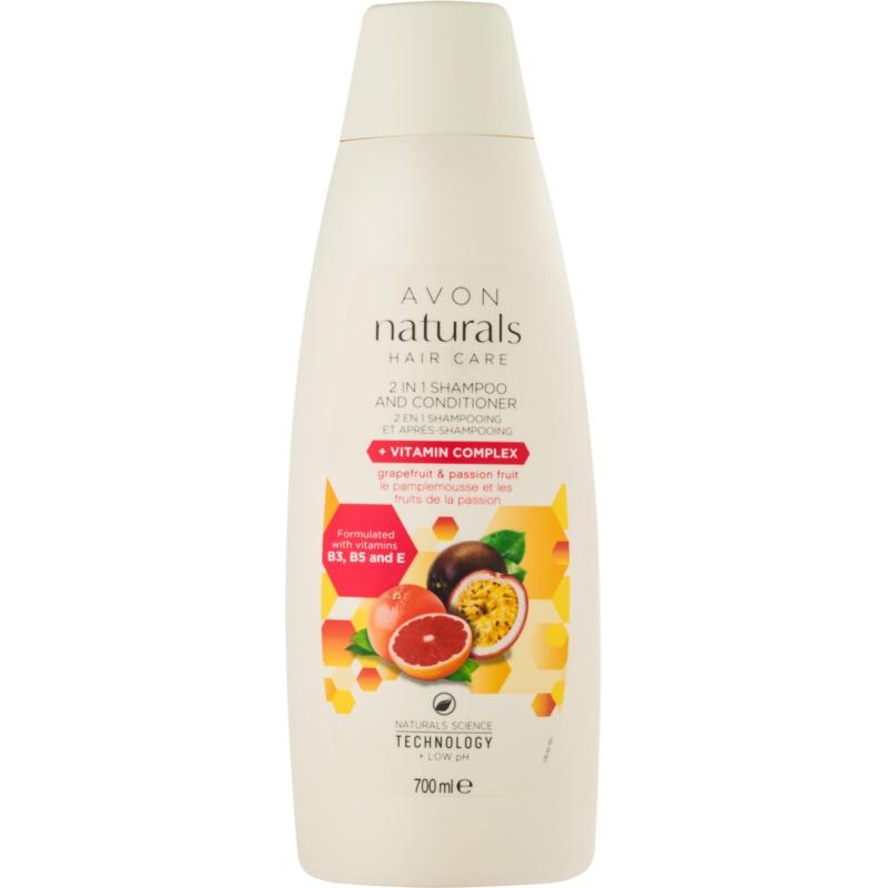 avon naturals hair care shampoo und conditioner 2 in 1. Black Bedroom Furniture Sets. Home Design Ideas
