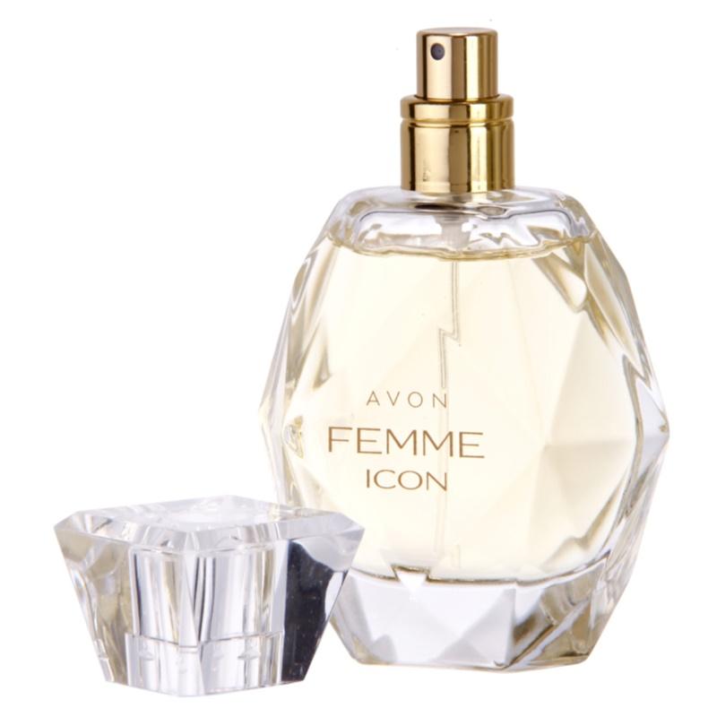 avon femme icon eau de parfum for women 50 ml. Black Bedroom Furniture Sets. Home Design Ideas