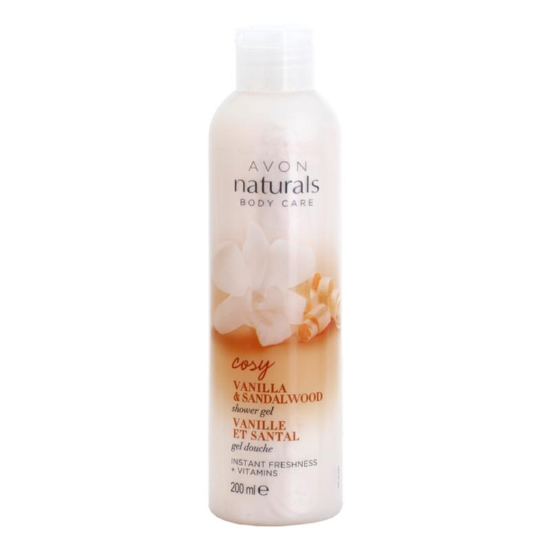 Avon Naturals Body Cream